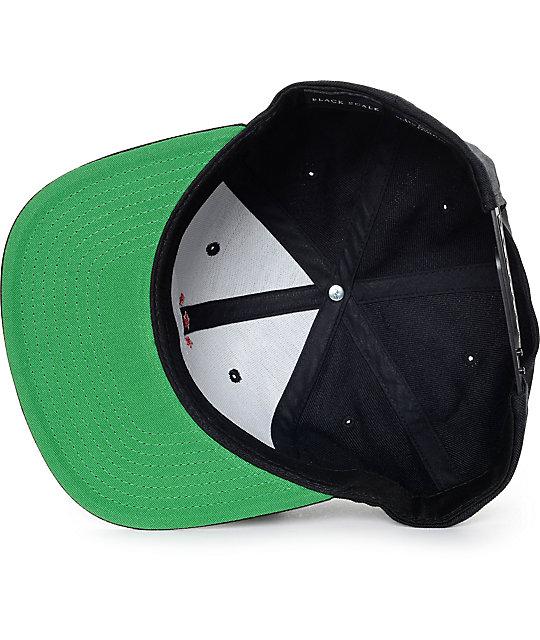 c53d858ab70 ... Black Scale Havoc Black Snapback Hat