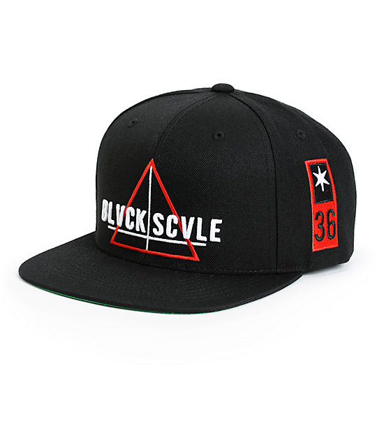 Black Scale Team Snapback Hat  df4515a9bae