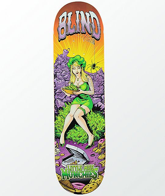 "Blind Miss Munchies 8.25"" tabla de skate"