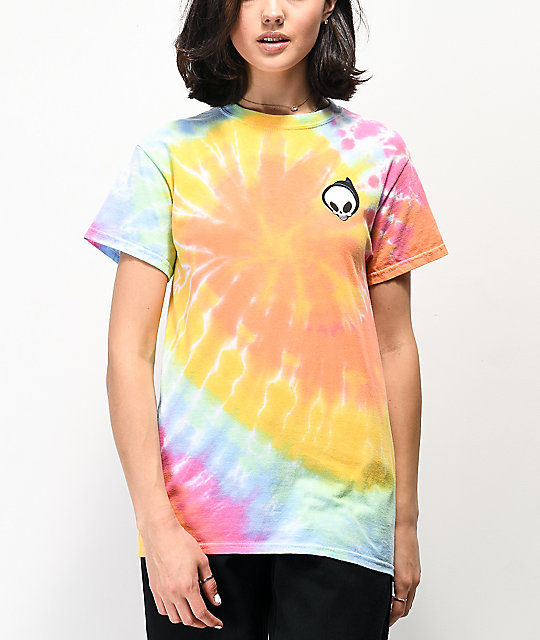 Blind Reaper camiseta tie dye multicolor