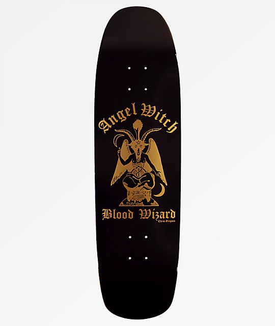 "Blood Wizard Gregson Angel Witch 10"" Skateboard Deck"