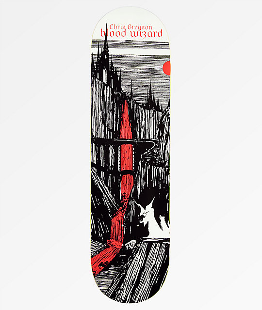 "Blood Wizard Gregson Castlebasas 8.5"" Skateboard Deck"