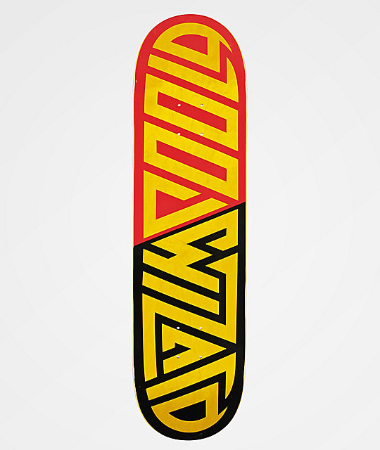 Blood Wizard Logo Red, Black & Yellow 8.25