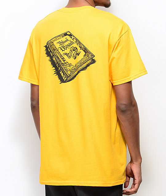 Blood Wizard Storybook Gold T-Shirt