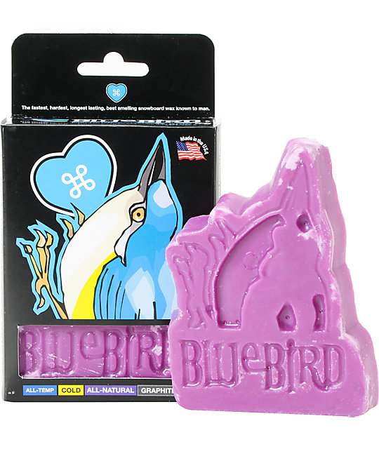 Blue Bird Box Wax All Natural Snowboard Wax