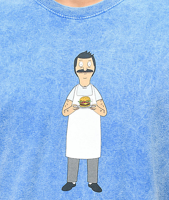 Bob's Burgers x Habitat Offering Blue T-Shirt