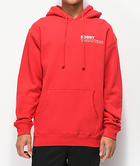 Bobby Tarantino by Logic Feelin' Divine Red Hoodie