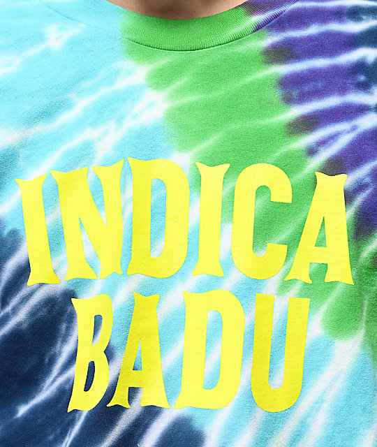 Bobby Tarantino by Logic Indica Badu Tie Dye Long Sleeve T-Shirt