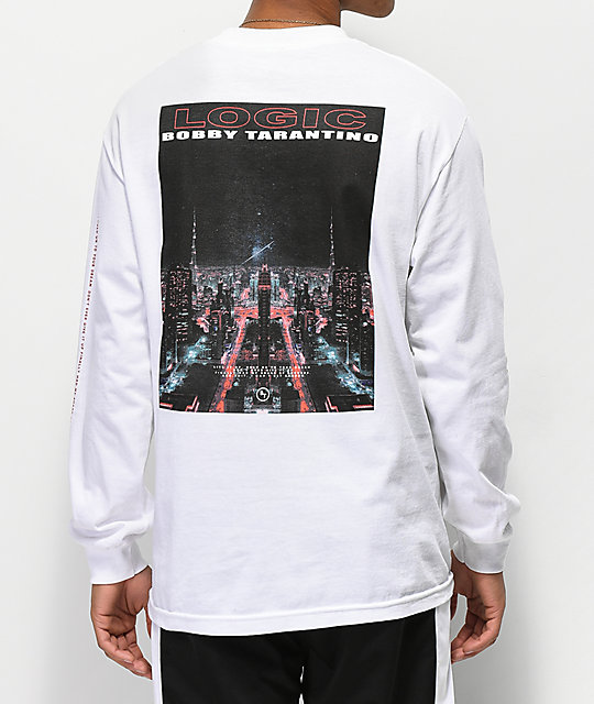 Bobby Tarantino by Logic Live It Up White Long Sleeve T-Shirt