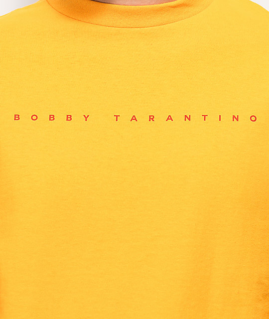 Bobby Tarantino by Logic Peace, Love & Positivity camiseta amarilla de manga larga