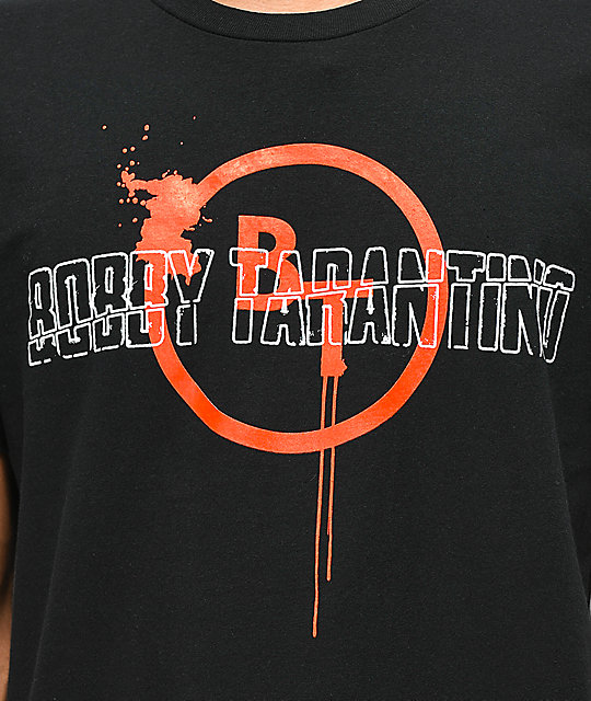 Bobby Tarantino by Logic Splat Black T-Shirt