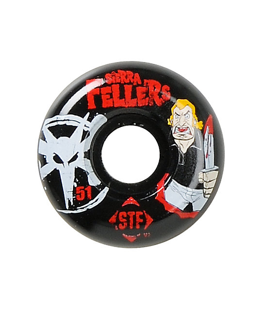 Bones Fellers Vee Bro STF 51mm Skateboard Wheels