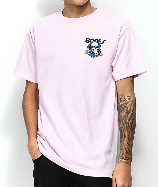 Bones Powell Ripper Pink T-Shirt