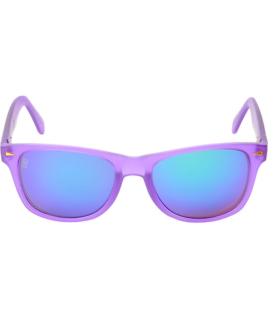 Brigada Lizard King Frost Purple Sunglasses