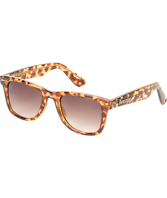 Brigada P-Rod Brown Tortoise Sunglasses