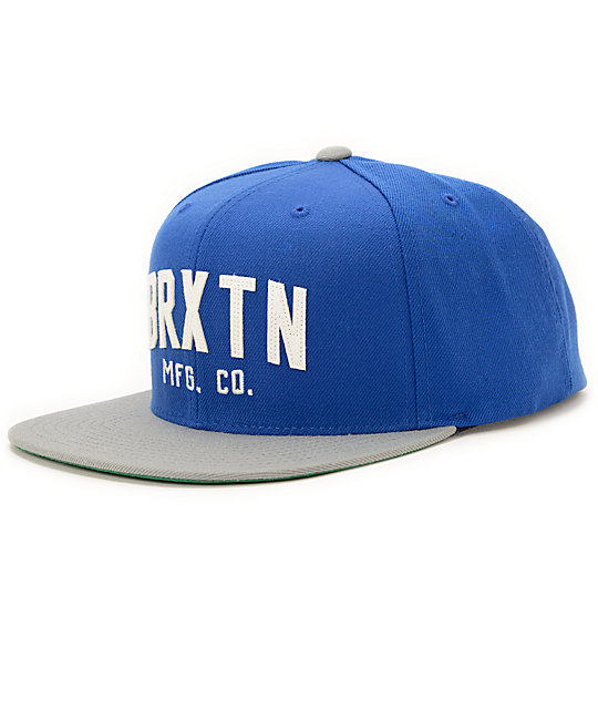 Brixton Arden Royal Blue Snapback Hat