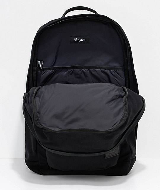 Brixton Basin Basic Black 25L Backpack