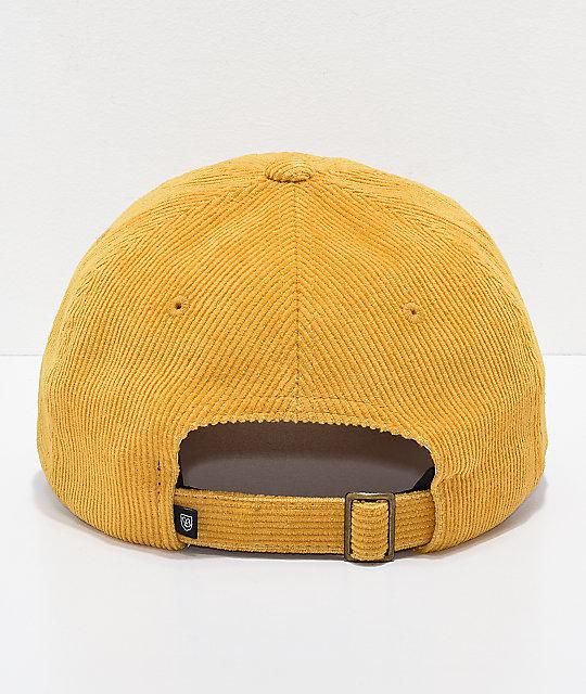 Brixton Belford Mustard Strapback Hat  Brixton Belford Mustard Strapback Hat 1c559f51f37