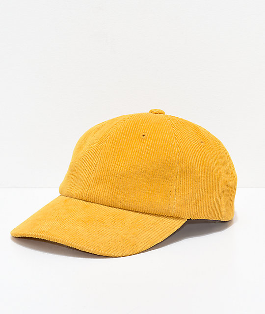 Brixton Belford Mustard Strapback Hat  bbf0692c278
