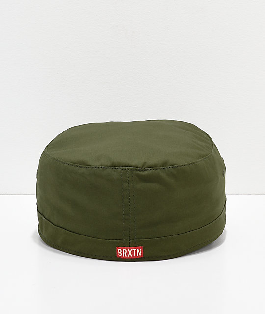 6cb154f00c62f ... Brixton Brigade Army Green Cap