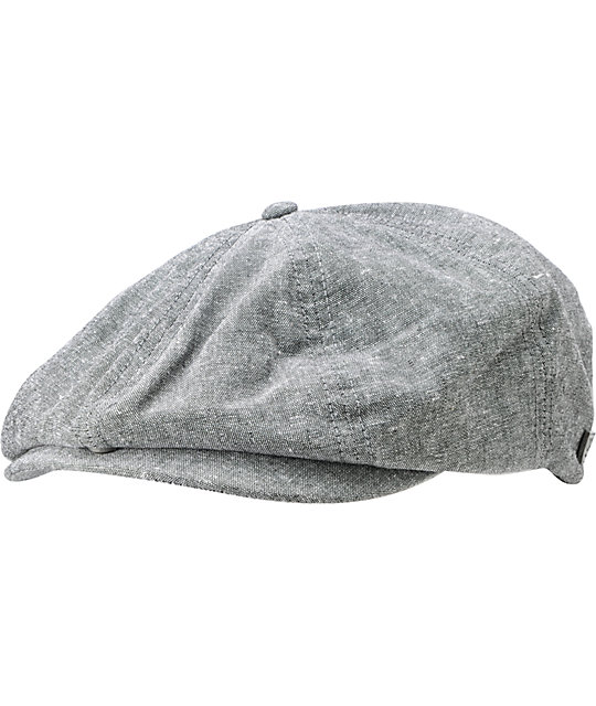 Brixton Brood Grey Driver Cap
