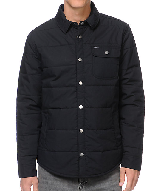 Brixton Cass Black Casual Jacket