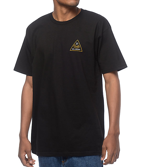 Brixton Cue Black T-Shirt