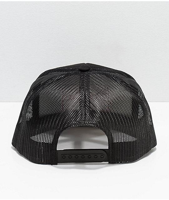 ... Brixton Grade Black Mesh Trucker Snapback Hat c9478703c15