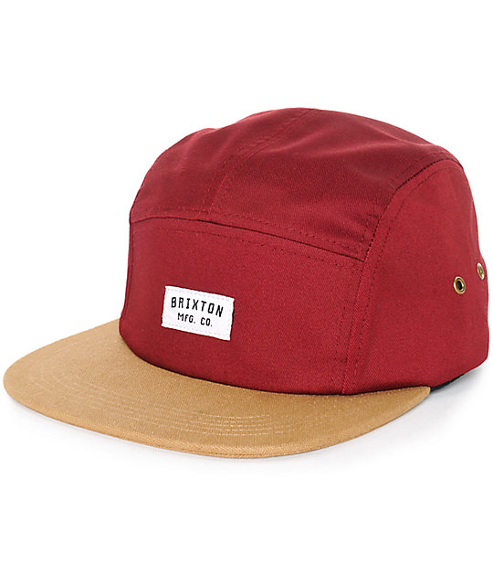 9d300f05aede7 ... low price brixton hendrick 5 panel hat 00a87 9c729