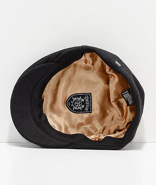 7c64b6a4e0b91 ... Brixton Hooligan Black Snap Hat