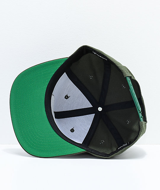 Brixton Jolt Hunter Green Snapback Hat