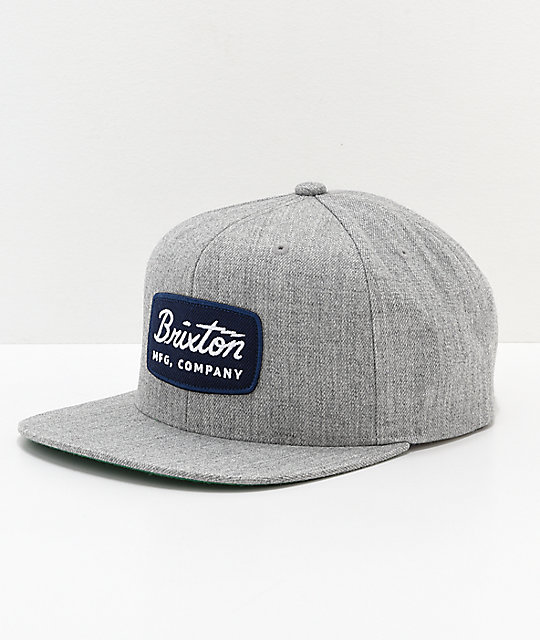 d80e5823c7c77 where to buy brixton jolt navy patch grey snapback hat zumiez e5778 6bcb9