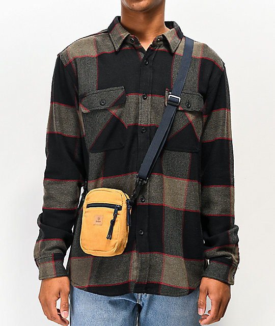 Brixton Main Label Yellow Fanny Pack