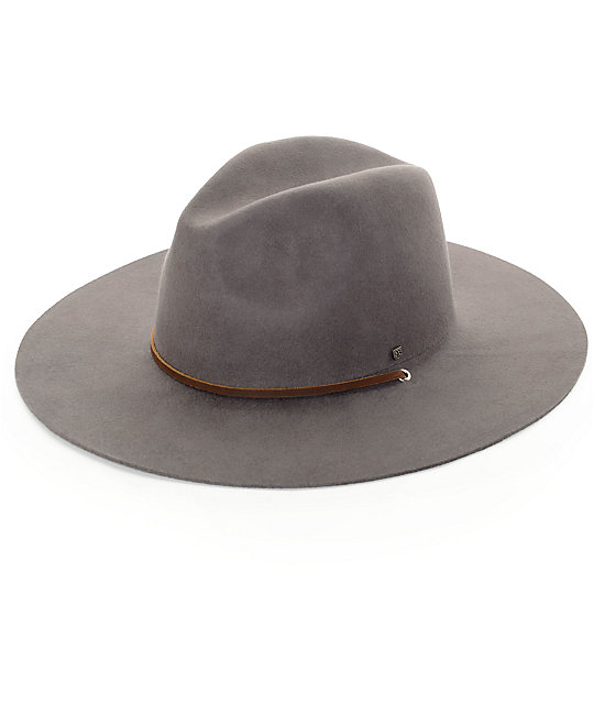 22c58b56609 Brixton Mayfield II Grey Hat ...