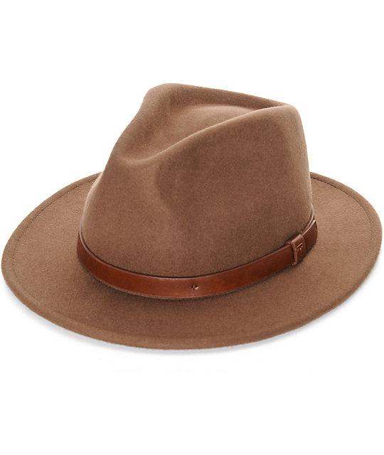 fb638928c26fc Brixton Messer Fedora Hat
