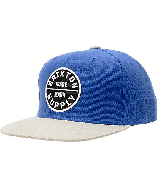 buy popular 29822 02509 promo code for blue brixton hat 7e81e b95dd