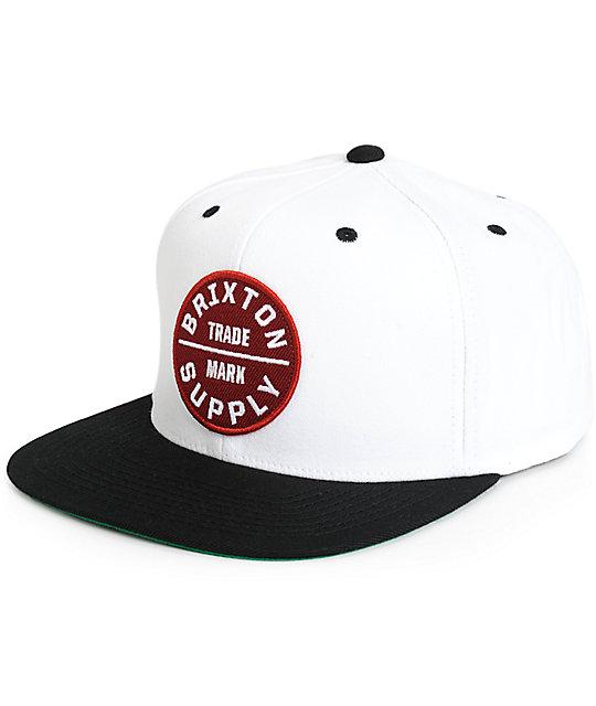 Brixton Oath III Snapback Hat  6e75df15424