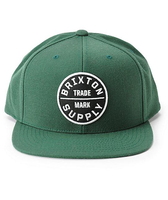 f15f54a321788 ... Brixton Oath III Snapback Hat
