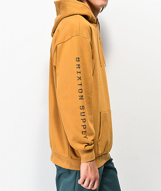 Brixton Oath IV Gold Hoodie