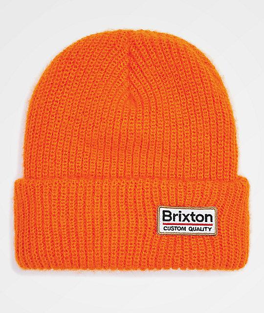 817e321d54e Brixton Palmer II Athletic Orange Beanie