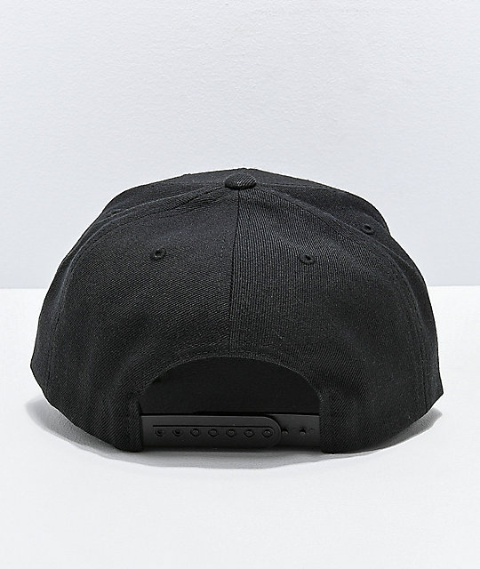 a2183e66 Brixton Palmer II Black Snapback Hat | Zumiez