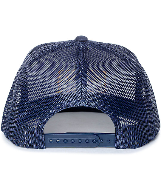 Brixton Palmer Navy & White Trucker Hat