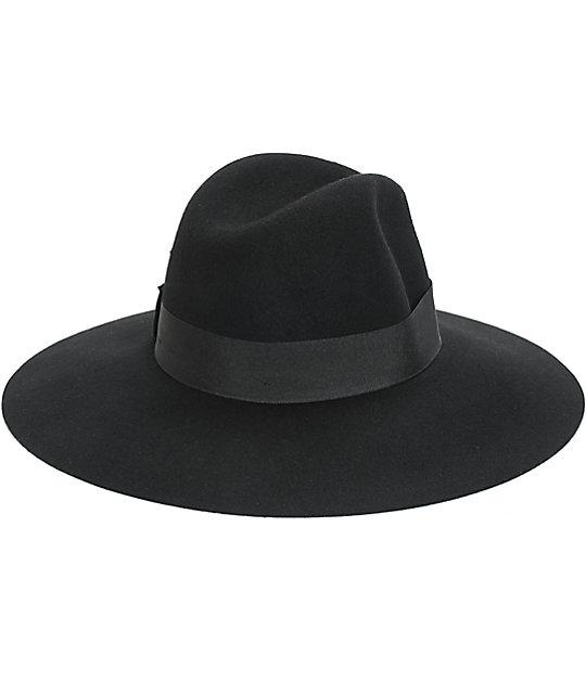 ... Brixton Piper Black Floppy Brim Hat b8a44df1f37