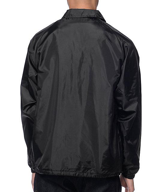 ... Brixton Ramsey Black Coach Jacket ... 7a93dde3ab4