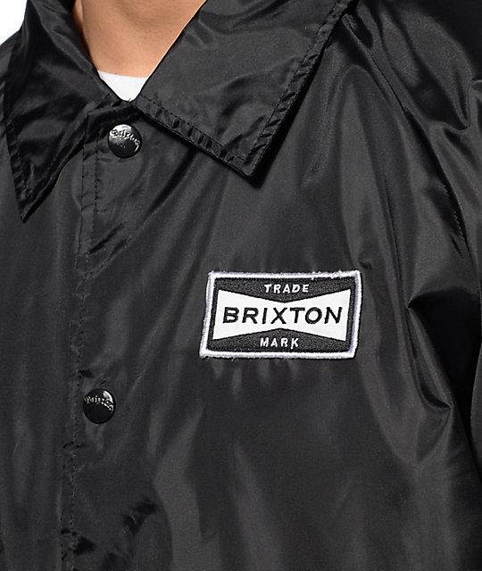 Brixton Ramsey Black Coach Jacket  Brixton Ramsey Black Coach Jacket ... 45ed97a65f8