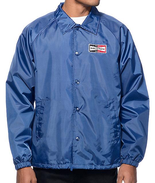 Brixton Ramsey Navy Coach Jacket  8bd72759eeb