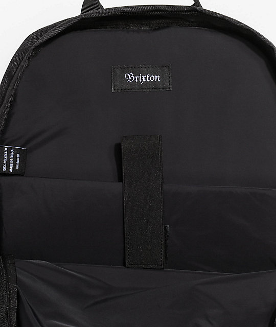Brixton Range Black Backpack