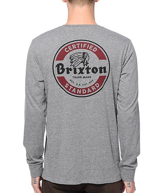 3ef039ec2 Brixton Soto Long Sleeve T-Shirt | Zumiez