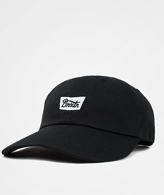 8fc34f05 Brixton Stith Black & White Baseball Hat | Zumiez.ca