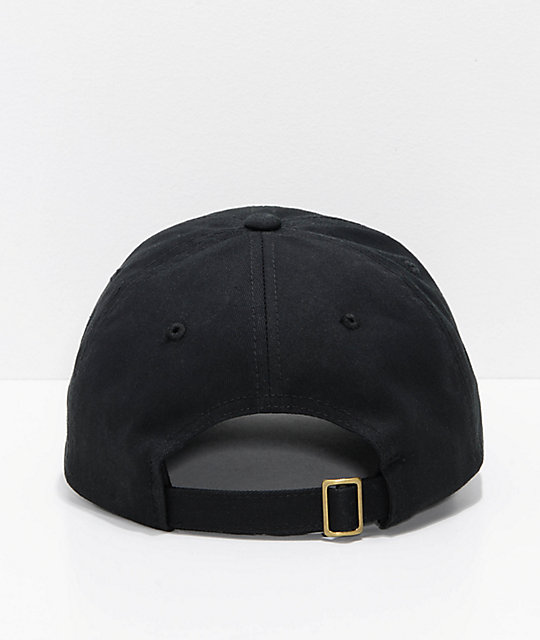 Brixton Stowell Black Strapback Hat  Brixton Stowell Black Strapback Hat 44d3ec24158